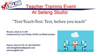Teacher Training Event At Seleng Studio!