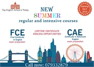 Подготовка к FCE и CAE в Top English School of Today!