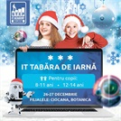 Зимний IT лагерь в Junior STEP IT Academy Moldova